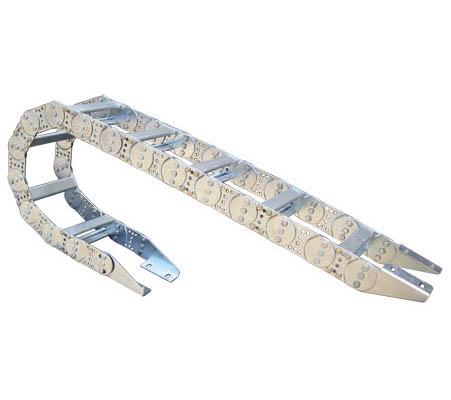 TL75型钢制拖链安装尺寸图