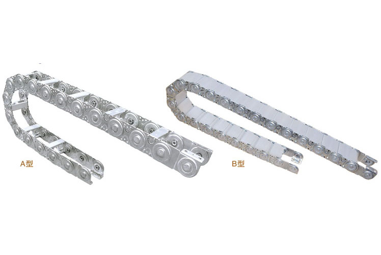 TLG100型钢制拖链
