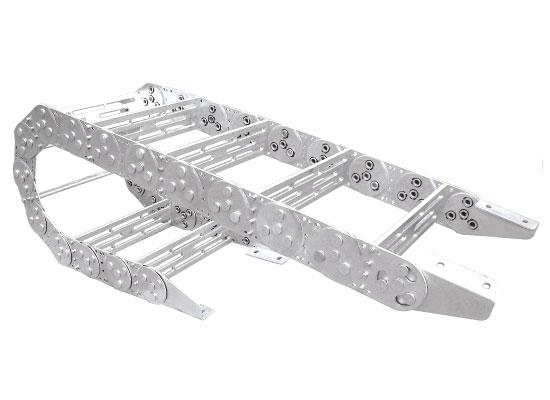 TL115 型钢制拖链安装尺寸图