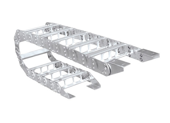 TL80 型钢制拖链安装尺寸图